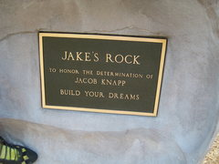 Rock Climbing Photo: Jake Knapp Memorial Rock
