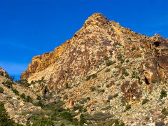 Rock Climbing Photo: A view of the Disappearing Buttress from the south...