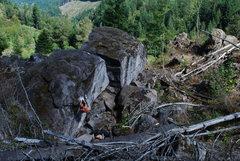 Rock Climbing Photo: bread loft boulder