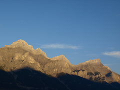 Rock Climbing Photo: Sunrise in Canmore!