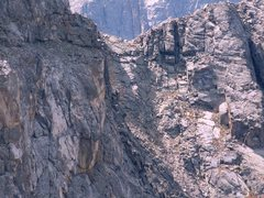 Rock Climbing Photo: What we were facing as a climb on the Northwest Ri...