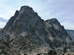 Rock Climbing Photo: Mt. Toll's Northwest face - traverse to the second...