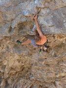 Rock Climbing Photo: Nate M. on Moat Pump. Sept. 2009.