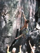 Rock Climbing Photo: Almost sticking the crux on All the Way, back in 2...