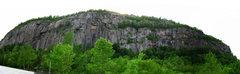 Rock Climbing Photo: Pano of Poke-o-moonshine