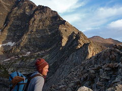 Rock Climbing Photo: Bill Duncan and the Blitzen Ridge.