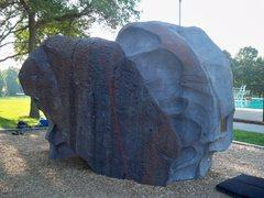 Rock Climbing Photo: Cowboy Slab (V1-)