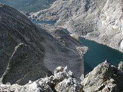 Rock Climbing Photo: Keen Butterworth enjoying the smashing view of the...