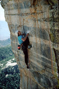 Rock Climbing Photo: JW OS in 1989