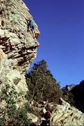 Rock Climbing Photo: John Candelaria singing like a choirboy