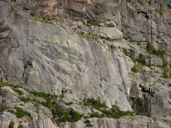 Rock Climbing Photo: Climbers on Free Ride(5.11a) 9-5-09  If this is yo...