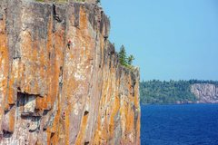 Rock Climbing Photo: Henning and Kate in the midst of Poseidon Adventur...