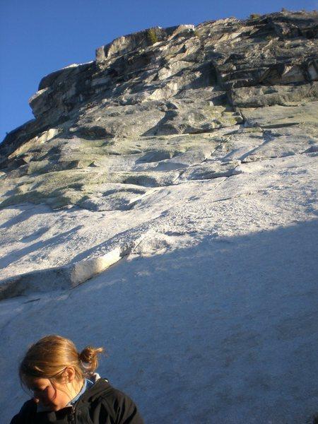 Rock Climbing Photo: boomerang