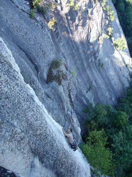 Rock Climbing Photo: FPA is best described as side pulling on the arete...