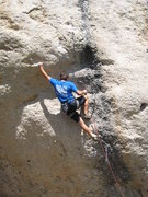 Rock Climbing Photo: How low can you lock off a sinker drilled 2-finger...