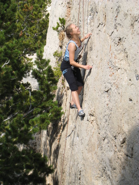 Rock Climbing Photo: Cruising Devil Wears Prada--I mean Spurs.