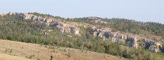 Rock Climbing Photo: The Main Wall from near the parking lot.
