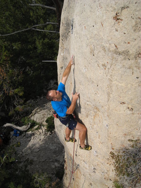 The Hot Tamale Wall offers a nice selection of high quality pocket routes.