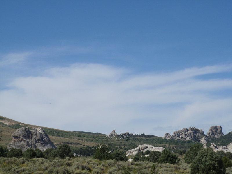 Rock Climbing Photo: Expansive view of City of Rocks.