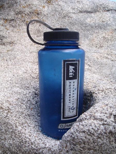 Rock Climbing Photo: Granite Cupholder