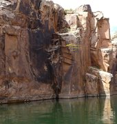 Rock Climbing Photo: great dws until you reach the top the arrete you w...