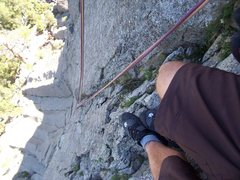Rock Climbing Photo: belay ledge devil's tower