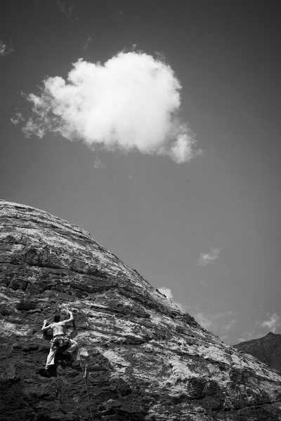 Rock Climbing Photo: john liu on family circus