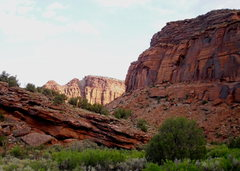 Rock Climbing Photo: Early morning in the Dolores River Canyon.