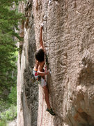 Rock Climbing Photo: Thompson Creek .12 Photo, Lynn Sanson
