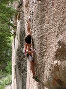 Rock Climbing Photo: Thompson Creek .12 Photo, Lynn Sanson