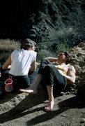 Rock Climbing Photo: Maria Cranor and Russ Clune