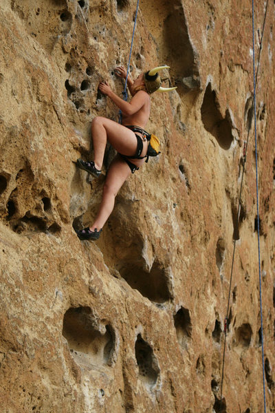 Rock Climbing Photo: I figured my friends were bored seeing photos of m...