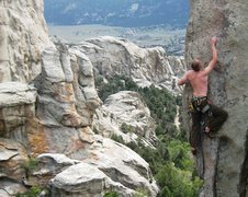 Rock Climbing Photo: Classic route in my book.