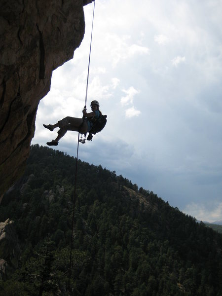 This was one the funnest rappel I've ever done.