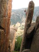 Rock Climbing Photo: I didn't climb it but I couldn't resist taking a p...