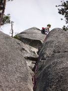 Rock Climbing Photo: second pitch of slot machine