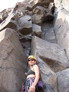 Rock Climbing Photo: the start of the route
