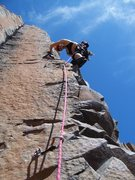 Rock Climbing Photo: whipsaw- king pins- sunshine wall- vantage