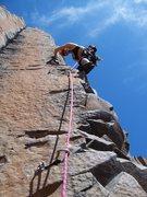 Rock Climbing Photo: whipsaw- king pins- sunshine wall- vantage