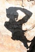 Rock Climbing Photo: Ancient wall art