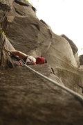 Rock Climbing Photo: Beautiful day at Broughton Bluff