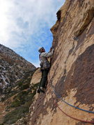 Rock Climbing Photo: Maurice Horn starting the second pitch of No Count...