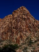 Rock Climbing Photo: The Disappearing Buttress. The leftmost line is No...