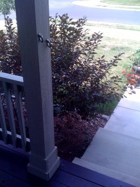 Bolted Porch Stairs