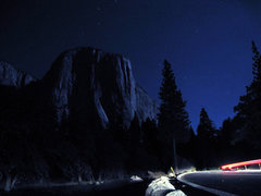 Rock Climbing Photo: Entering the Valley to climb the Prow over Labor D...