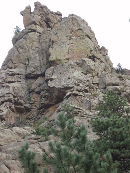 Rock Climbing Photo: From the creek.