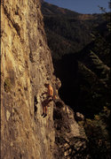 Rock Climbing Photo: Mike Kurilich denied the Sundance, The Hideaway