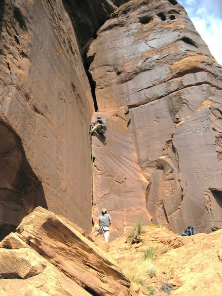 Rock Climbing Photo: Steve and Pat.