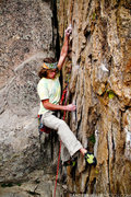 Rock Climbing Photo: Ak on the boulder start to firepower