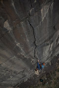 Rock Climbing Photo: Joel Tinl on the headwall.   Photo courtesy of And...